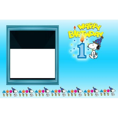Ahşap Snoopy magnet 818