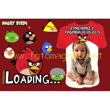 Yeni Angry Birds Magnet