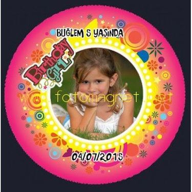 Birthday Girl Sticker