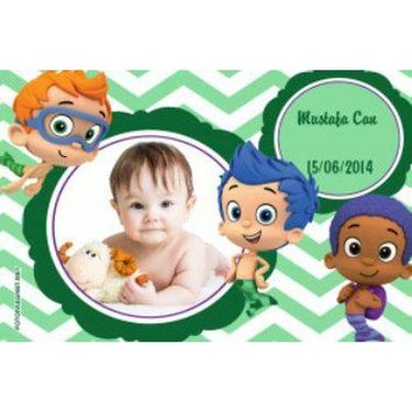 Ahşap Bubble guppies magnet