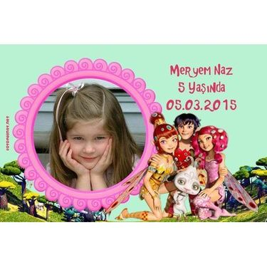 Ahşap Mia And Me Magnet