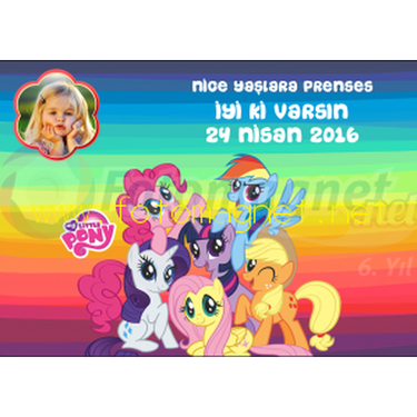 My Little Pony Temalı Amerikan Servis